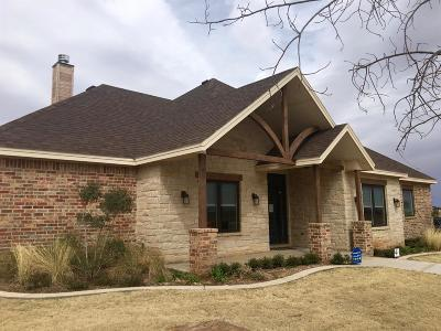Lubbock Single Family Home For Sale: 3802 137th Street