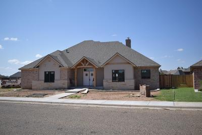 Wolfforth TX Single Family Home Under Contract: $345,000