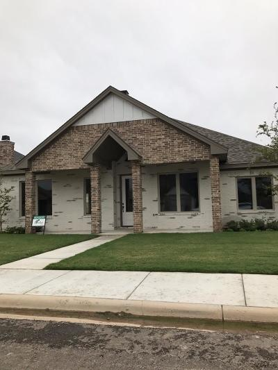 Lubbock Single Family Home For Sale: 11205 Gardner