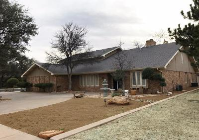 Lubbock Single Family Home For Sale: 8614 Vicksburg Avenue