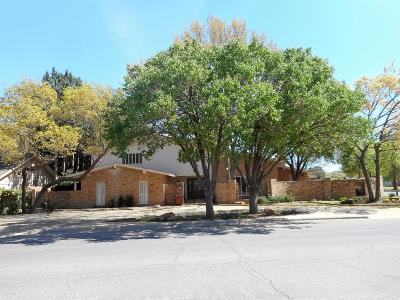 Lubbock Single Family Home For Sale: 4615 13th Street