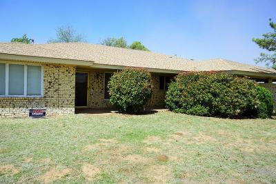 Brownfield TX Single Family Home For Sale: $135,000