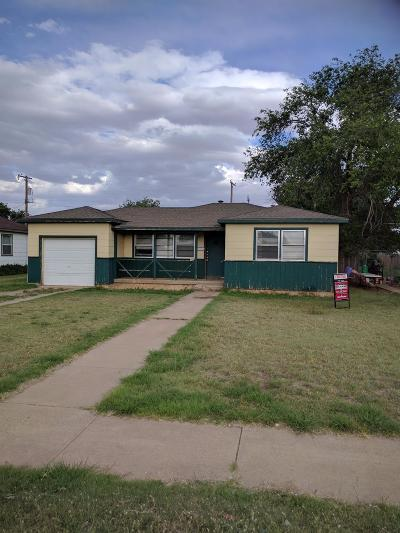 Lubbock County Single Family Home Under Contract: 5639 Ave B