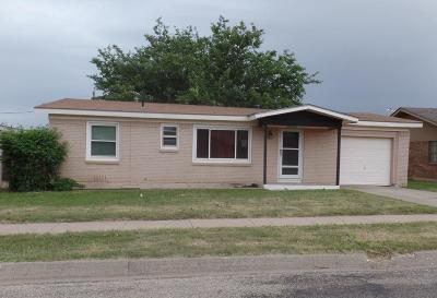 Snyder TX Single Family Home Sold: $49,900