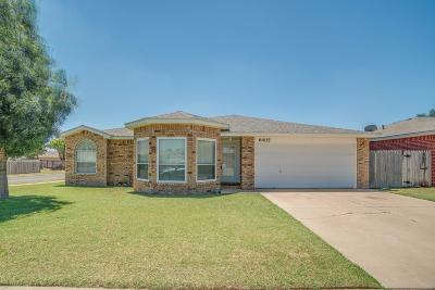 Lubbock TX Single Family Home Sold: $169,950