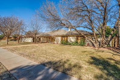 Lubbock Single Family Home For Sale: 4616 9th Street