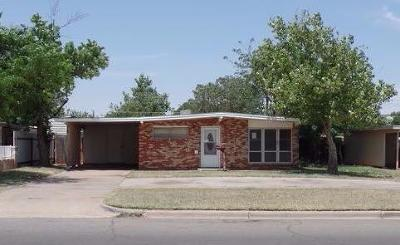 Lubbock TX Single Family Home Sold: $49,900