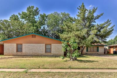 Lubbock TX Single Family Home Sold: $134,200