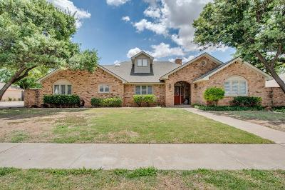 Lubbock Single Family Home For Sale: 4905 76th Street