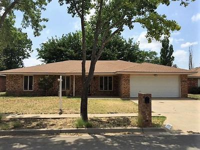 Lubbock TX Single Family Home For Sale: $189,250