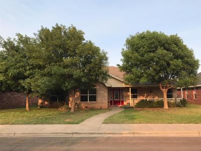 Lubbock TX Single Family Home Under Contract: $209,000