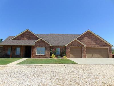 Justiceburg TX Single Family Home For Sale: $350,000