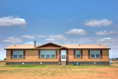 Shallowater Single Family Home Under Contract: 9222 County Road 6100