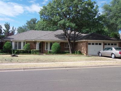 Lubbock TX Single Family Home For Sale: $179,500