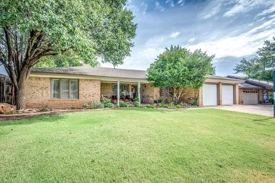 Lubbock Single Family Home For Sale: 5218 85th Street