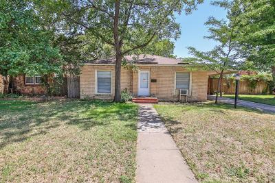 Single Family Home For Sale: 2003 30th Street