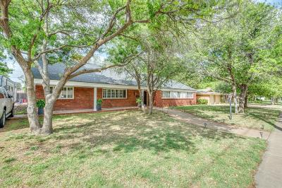 Lubbock Single Family Home For Sale: 3206 42nd Street