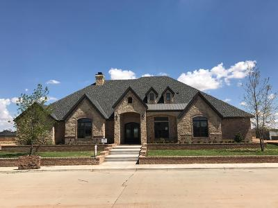 Lubbock TX Single Family Home For Sale: $815,000