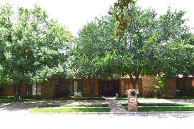 Lubbock Single Family Home For Sale: 4615 91st Street