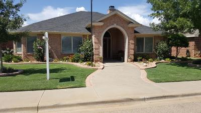 Lubbock Single Family Home Under Contract: 3708 104th Street