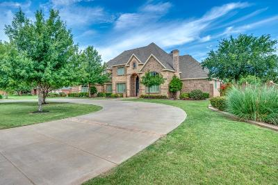 Lubbock TX Single Family Home For Sale: $875,000