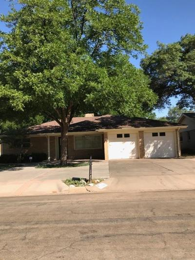 Lubbock Single Family Home For Sale: 4116 62nd Drive