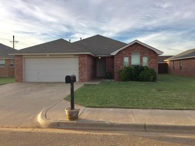 Lubbock TX Single Family Home For Sale: $144,900