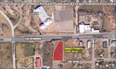 Lubbock Commercial Lots & Land For Sale: 1302 East Broadway Street