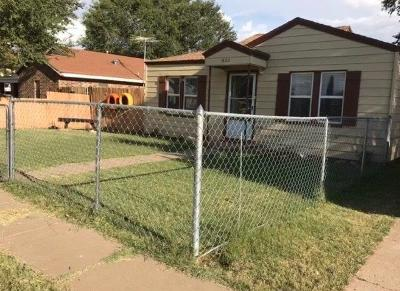 Levelland Single Family Home For Sale: 1822 8th Street