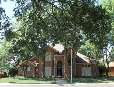 Lubbock Single Family Home For Sale: 5501 85th Street