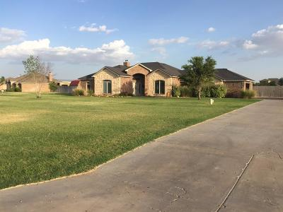 Lubbock Single Family Home Under Contract: 3303 County Road 7520
