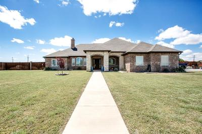 Lubbock Single Family Home Under Contract: 6406 County Road 1440