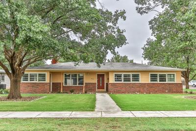 Lubbock TX Single Family Home Sold: $184,900