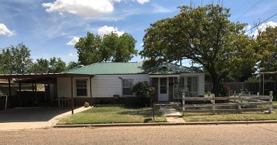 Abernathy Single Family Home For Sale: 1205 14th Street
