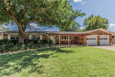 Lubbock Single Family Home Under Contract: 3307 57th Street