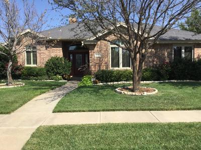 Lubbock Single Family Home Under Contract: 10907 Richmond Avenue