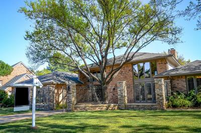 Lubbock Single Family Home For Sale: 4631 89th Street