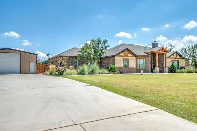Lubbock Single Family Home For Sale: 3305 County Road 7560