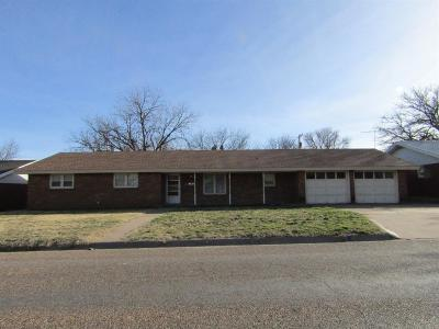 Littlefield Single Family Home For Sale: 104 East 20th