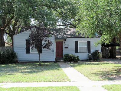 Lubbock Single Family Home For Sale: 2605 28th Street