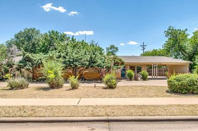 Lubbock Single Family Home Under Contract: 3319 29th Street