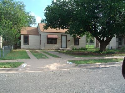 Lubbock Single Family Home Under Contract: 1520 24th Place