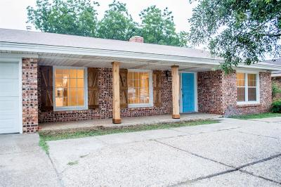 Lubbock Single Family Home For Sale: 2918 69th Street