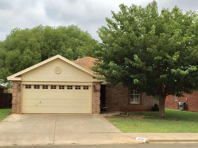 Lubbock TX Single Family Home Under Contract: $129,900