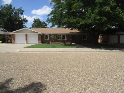 Lubbock Single Family Home Under Contract: 2116 71st Street