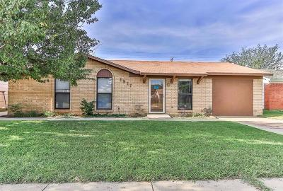 Lubbock Single Family Home Under Contract: 1917 74th Street