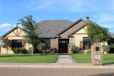 Lubbock Single Family Home For Sale: 6208 110th Street