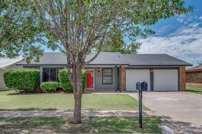 Lubbock Single Family Home Under Contract: 5713 1st Street
