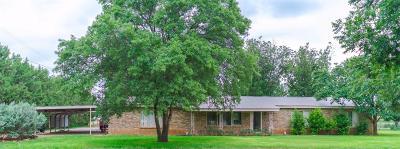 Lubbock Single Family Home For Sale: 3726 Farm Road 1294