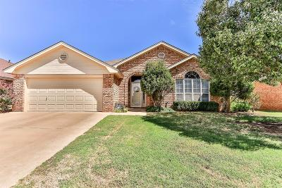 Lubbock Single Family Home For Sale: 2902 87th Street